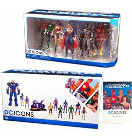 DC Comics DC REBIRTH JUSTICE LEAGUE ACTION FIGURE 7 PACK