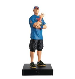 Eaglemoss WWE Championship Collection John Cena Statue with Collector Magazine #2