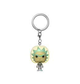 Funko Pocket Pop! Keychain: Rick and Morty - Rick (Space Suit)