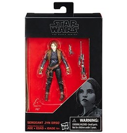 "Hasbro Star Wars Sergeant Jyn Erso The Black Series 3.75"" Action Figure"