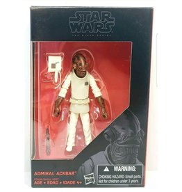 "Hasbro Star Wars Black Series Admiral Ackbar 3.75"" Action Figure"