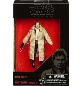 "Hasbro Star Wars Black Series Han Solo Endor Walmart Exclusive 3.75"" Action Figure"