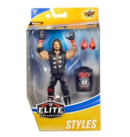 Mattle WWE AJ Styles Elite Series 77 Action Figure