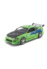 Jada Toys Fast and the Furious Brian's Mitsubishi Eclipse 1:24 Scale Die-Cast Metal Vehicle