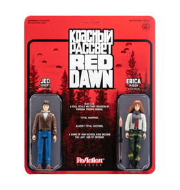 Super7 Red Dawn Reaction 2-Pack - Pack A (Erica and Jed)