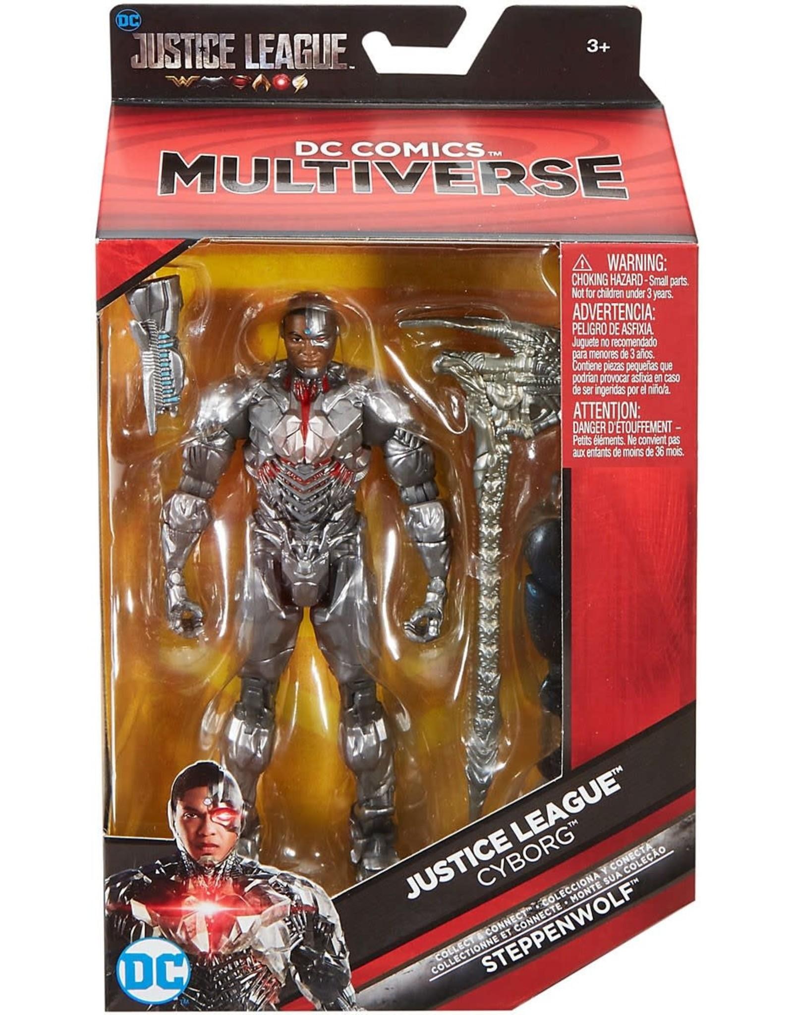Mattel DC Comics Multiverse Justice League Cyborg Figure