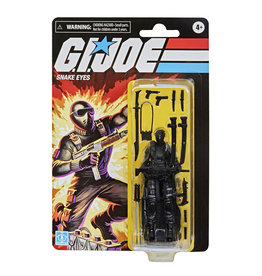 "Hasbro G.I. Joe Retro Collection Snake Eyes 3.75"" Exclusive Figure"