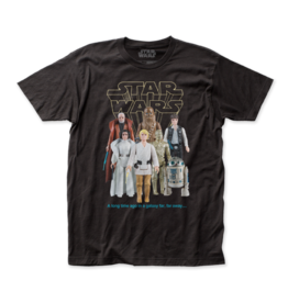 Impact Merch Star Wars – Good Guys Action Figures T-Shirt