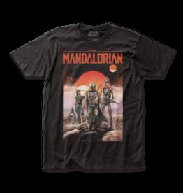 Impact Merch The Mandalorian – Mandalorian Poster T-Shirt