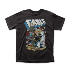 Impact Merch Cable – Shell Casings T-Shirt