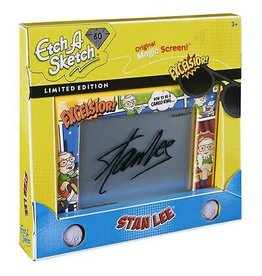 SpinMaster Etch A Sketch Classic Stan Lee Edition Drawing Toy