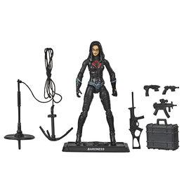 Hasbro G.I. Joe Retro Collection Baroness 3.75-In Collectible with Accessories