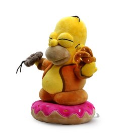 "kidrobot THE SIMPSONS 10"" HOMER BUDDHA PLUSH"