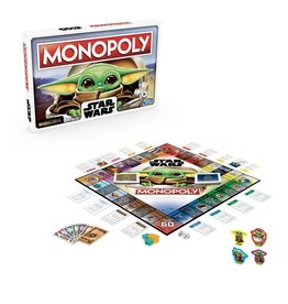 Hasbro Star Wars The Mandalorian The Child Edition Monopoly Game