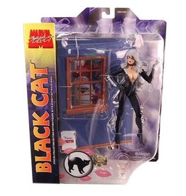 Diamond Select Toys Marvel Select Figure - Black Cat