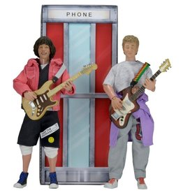 NECA Bill & Ted's Excellent Adventure Wyld Stallions Two-Pack