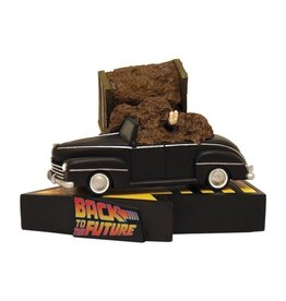 Factory Entertainment Back to the Future - Manure Truck Accident Premium Motion Statue