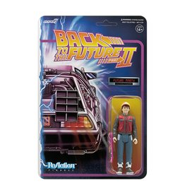 Super7 Back to the Future 2 ReAction Figure Wave 1 - Marty McFly Future