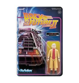 Super7 Back to the Future 2 ReAction Figure Wave 1 - Doc Brown Future