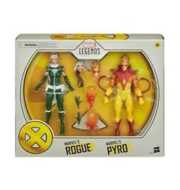 Hasbro Marvel Legends X-Men Marvel's Rogue and Pyro Action Figure 2-Pack