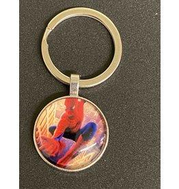 Graveyard Customs Spider Man Glass Keychain