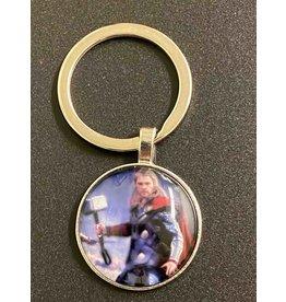 Graveyard Customs Thor Glass Keychain