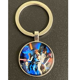 Graveyard Customs Star Wars: A New Hope Poster Glass Keychain