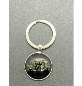 Graveyard Customs Star Wars Logo Glass Keychain