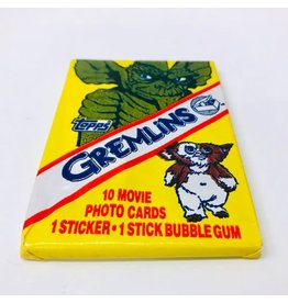 Gremlins Movie Photo Cards Wax Pack