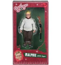 """NECA NECA 8"""" Clothed Action Figure - A Christmas Story - Ralphie & Old Man 2-pack"""