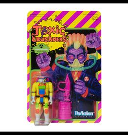 Super7 Toxic Crusaders ReAction Figure - Radiation Ranger
