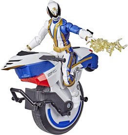 Hasbro Power Rangers Lightning Collection S.P.D. Omega Ranger and Uniforce Cycle Vehicle 6-Inch Action Figure (Exclusive)