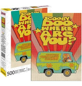 Aquarius Scooby Doo Where Are You 500-Piece Puzzle