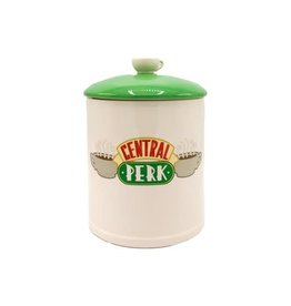Silver Buffalo Friends Central Perk Logo Ceramic Cookie Jar