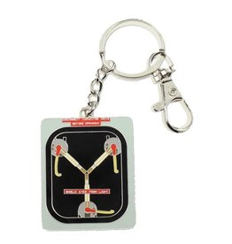 SD Toys Back to the Future Flux Capacitor Metal Keychain