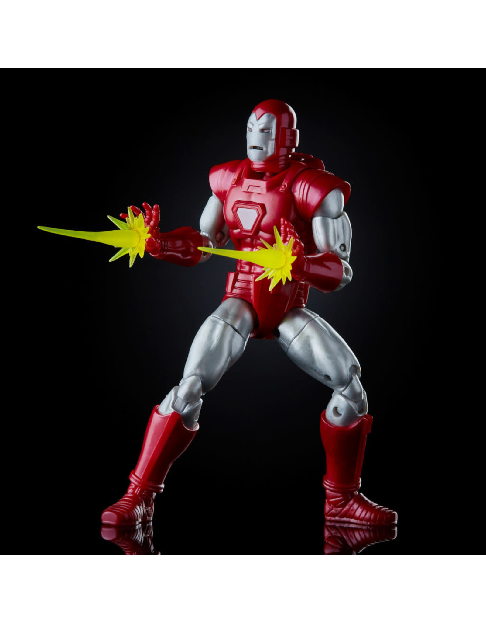HASBRO MARVEL LEGENDS 6 inch IRON MAN SILVER CENTURION Exclusive ACTION FIGURE