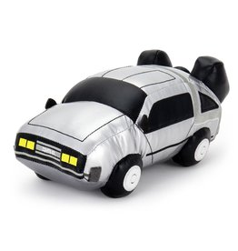 "kidrobot BACK TO THE FUTURE 11"" DELOREAN TIME MACHINE PLUSH"