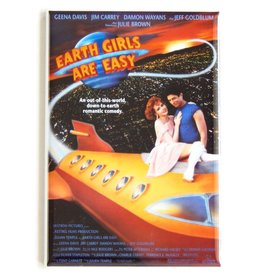 Magnet Revolution Earth Girls Are Easy Movie Poster Fridge Magnet