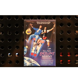 Magnet Revolution Bill and Ted's Excellent Adventure Movie Poster Fridge Magnet