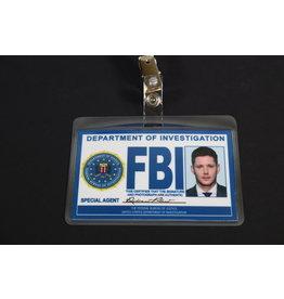 "Misfit Props Supernatural Inspired FBI Badge- Dean Winchester ""Special Agent Robert Plant"" Prop Replica"