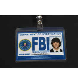 "Misfit Props Supernatural Inspired FBI Badge - Sam Winchester ""Special Agent James Page"" Prop Replica"