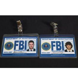 Misfit Props Supernatural Inspired FBI Badge - Special Agent Sam and Dean Winchester Prop Replica