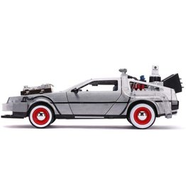 Jada Toys Jada Toys Back to the Future Time Machine 1:24 Scale Hollywood Rides Diecast Vehicle