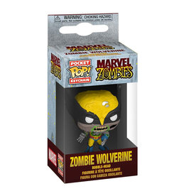 Funko Marvel Zombies Pocket Pop! Keychain Zombie Wolverine