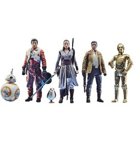 Hasbro Star Wars Celebrate The Saga Toys The Resistance Figure Set, 3.75-Inch-Scale Collectible Action Figure 6-Pack Exclusive