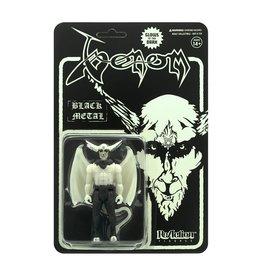 Super7 Venom ReAction Figure - Black Metal (Glow In The Dark)