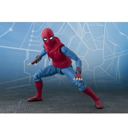 Bandai Spider-Man: Homecoming S.H.Figuarts Spider-Man (Homemade Suit Ver.) & Tamashii Option Act Wall
