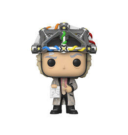 Funko Pop! Movies: Back to the Future - Doc Brown (Helmet)