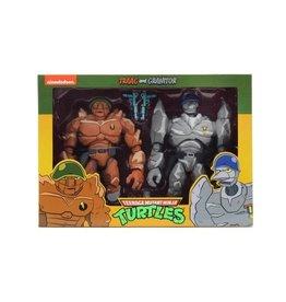 NECA NECA Teenage Mutant Ninja Turtles Traag and Granitor Exclusive
