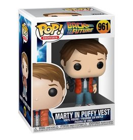 Funko Pop! Movies: Back to the Future - Marty McFly (Puffy Vest)